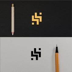 """SS"" Monogram logo concept."