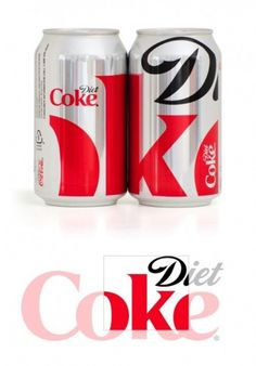 Massive Diet Coke - Brand New #coke #bottle #packaging #design #can
