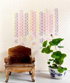 Embroidered Flower Lobby by Tripasai Architect - www.homeworlddesign. com (6)