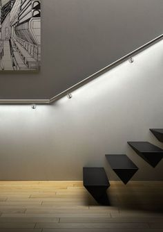 LED RAILING SYSTEM #stairs #lighting #led