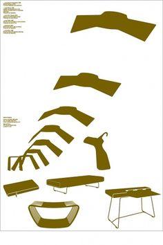 Barber Osgerby Poster Design by MadeThought #illustration #design #graphic #poster