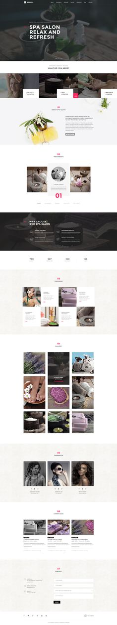 Brando #Responsive & #Multipurpose #OnePage #WordPress #Theme For #Spa by #ThemeZaa https://goo.gl/ePNxYs