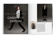 DANSK–International Fashion Magazine - Rune Høgsberg #rune #hgsberg #dansk #magazine #typography