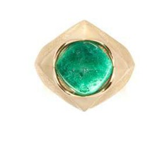 Philippe Pfeiffer Emerald Ring