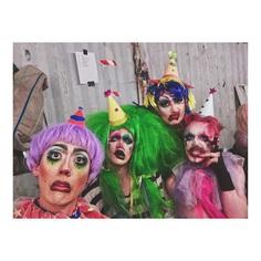 "ShayShay on Instagram: ""NYC Clown low"" • Instagram drag queen gender non conforming"