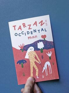 Tarzan is an occidental man on Behance