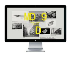 Logo and website designed by Two Times Elliott for interior and architecture firm MDD9 #web