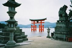 Itsukushima Shrine Torii. by Jorge R on Flickr. #shinto #photography #itsukushima #shrine #japan
