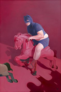 Lee Chen Dao | PICDIT #pink #painting #red #art
