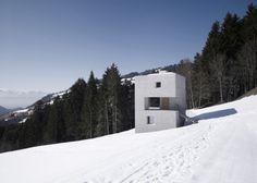 Mountain Cabin by marte.marte architects #minimal #minimalist #architecture #house