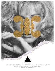 mm #mogollon #self #poster #promotion #collage #foil