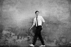 Daniel Lommatzsch by Waldemar Salesski #actor #waldemar #white #black #portrait #men #man #salesski