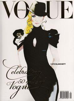vogue_australia #vogue #downton #cover #illustration #fashion #australia #david #magazine