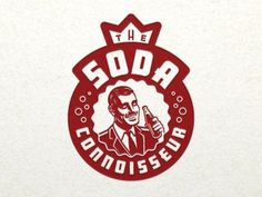 Dribbble - Soda Connoisseur by Jeffrey Devey #logo #illustration #soda #vintage