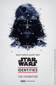 STAR WARS Identities | Montréal Science Centre #star #wars #poster
