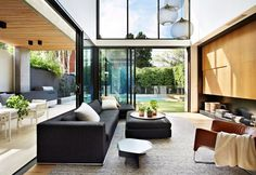 Luxurious Two-level Residence in Melbourne - #decor, #interior, #homedecor, home decor, interior design