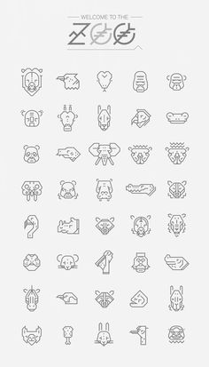 NICOLAS GALKOWSKI #icon #sign #zoo #picto #symbol #animals
