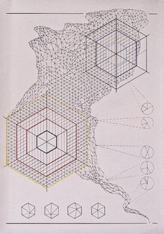 Planetary Folklore: Cascolab #abstract #van #rento #grid #drunen #drawing