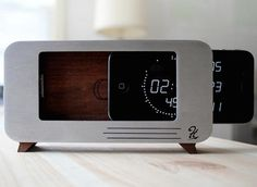 CDock Clock #tech #flow #gadget #gift #ideas #cool