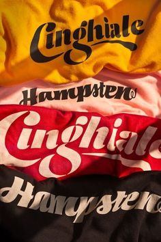 House Industries - Blog #lettering #script #tee #shirt