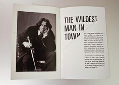 WILDE Magazine on Typography Served