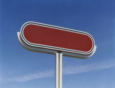 Magic Realism #red #sign #texas #signpost #blanc