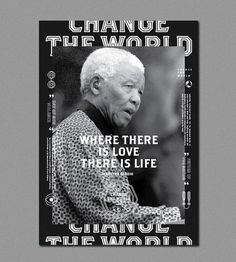Change The World | ALONGLONGTIME #world #black #poster #alonglongtime