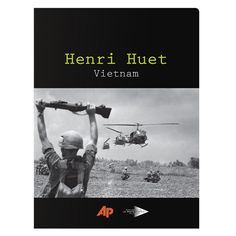 Associated Press Vintage Presentation Folder (Front View) #vietnam #white #war #design #soldier #black #and #folder