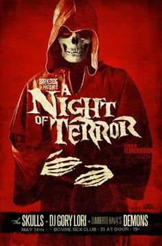 JUSTIN ERICKSON - illustration + graphic design #illustration #poster #horror