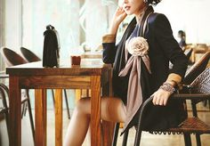 . #fashion #serene #woman #flower