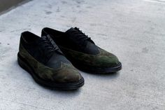 Dailymovement #camo #shoes #camouflage #brogues