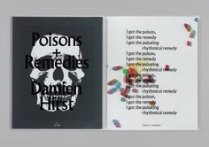 Gagosian Gallery – Damien Hirst: Poisons + Remedies 2011 | Publication | Graphic Thought Facility #remedies #gallery #2011 #poisons #graphic #gagosian #publication #hirst #damien #thought #facility