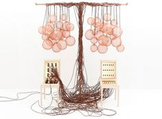 kyouei design: switch chair + music box DJ table #dj #tablechair