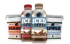 Mammoth Supply Co. - Real Man Food, Man! #coffee #ice