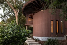 Designed in 1950 for a teacher named Foster, this unique two-bedroom midcentury known as the Foster House was one of the architect's earliest residential commissions.