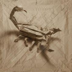 Marc Fichou #origami #crab