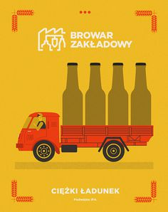 illustration, beer, design, quirky