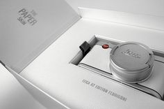 lovely package limited edition fedrigoni leica 9 #packaging #leica #design #graphic