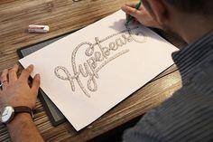 HYPEBEAST PEN #hand #drawn #type #hypebeast #pencil