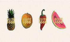 Elite Food Catering Co.   Branding
