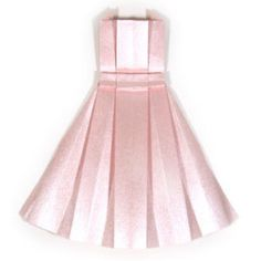 How to make an origami dress (http://www.origami-make.org/howto-origami-dress.php)