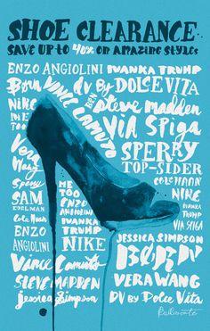 Nordstrom Shoe Campaign