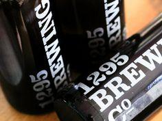 1295 Brewing Co. #type #brand #branding #typography