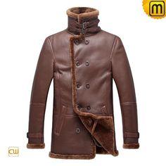 Russian Style Sheepskin Coat for Men CW878236