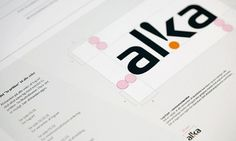 Onestep Creative - The Blog of Josh McDonald » Alka Identity System #alka #branding #guidelines #system #identity #logo