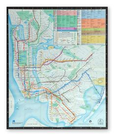 A New Subway Map for New York - Interactive Feature - NYTimes.com on imgfave #subway #nyc #map