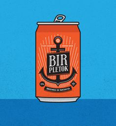 Batavia Ginger Beer by HYPRLAB #popart #illustration #graphic #typography
