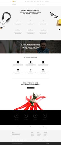 H-Code #Responsive & #Multipurpose #OnePage and #MultiPage #Template For #Services by #ThemeZaa http://goo.gl/ygs4kX