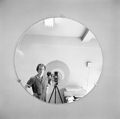 Self-Portrait, May 5th, 1955 #photography