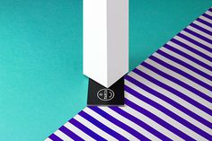 How to use a business card 2 on Behance #photoshooting #business #card #stripes #color #trend #photography #fashion #still #life